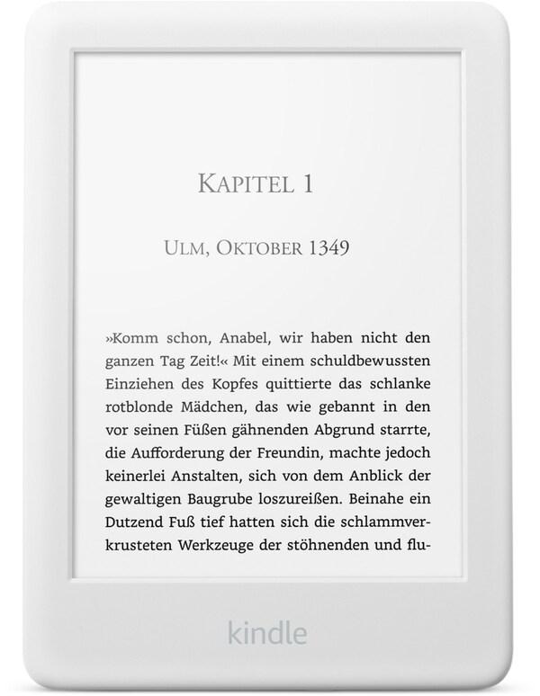 "Kindle 6"" WiFi (2019) E-Book Reader weiß"