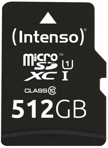 microSDXC Card Premium (512GB) Speicherkarte