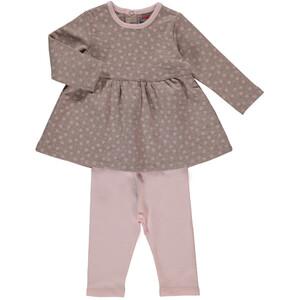 Baby Mädchen 2er Set, bestehend aus Kleid und Leggings