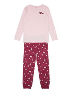 Mädchen Pyjama mit Glow-in-the-dark-Print