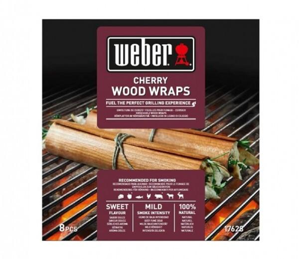 Weber Wood Wraps aus Kirschholz