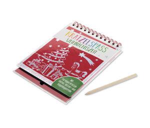 Buch »Kratzelspaß Weihnachtszeit«