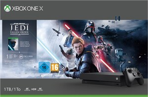 Xbox One X Konsole (1TB) inkl. Star Wars Jedi: Fallen Order