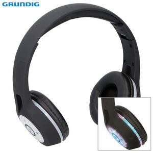 Grundig Bluetooth-Stereo-Kopfhörer mit LED-Diskolicht