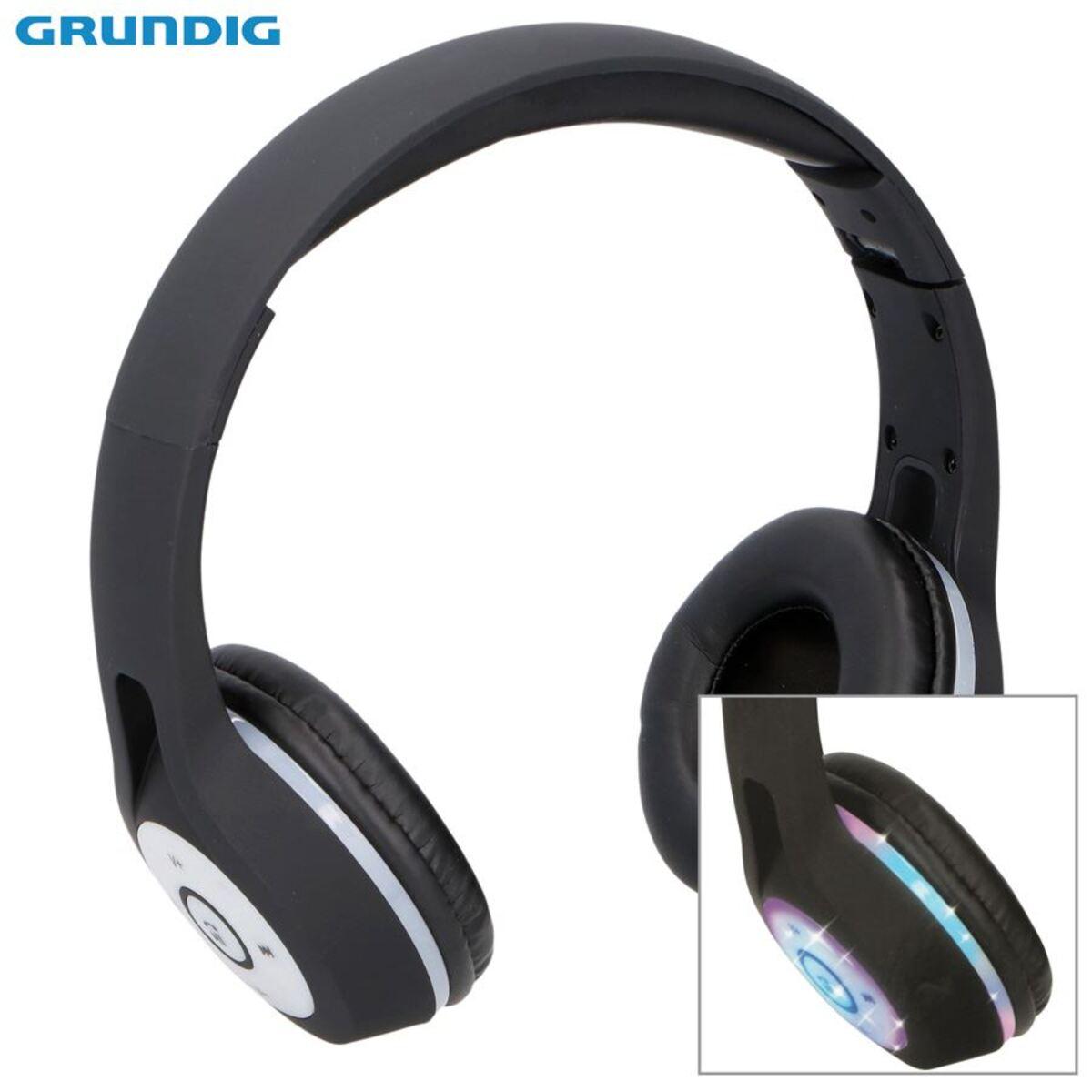 Bild 1 von Grundig Bluetooth-Stereo-Kopfhörer mit LED-Diskolicht