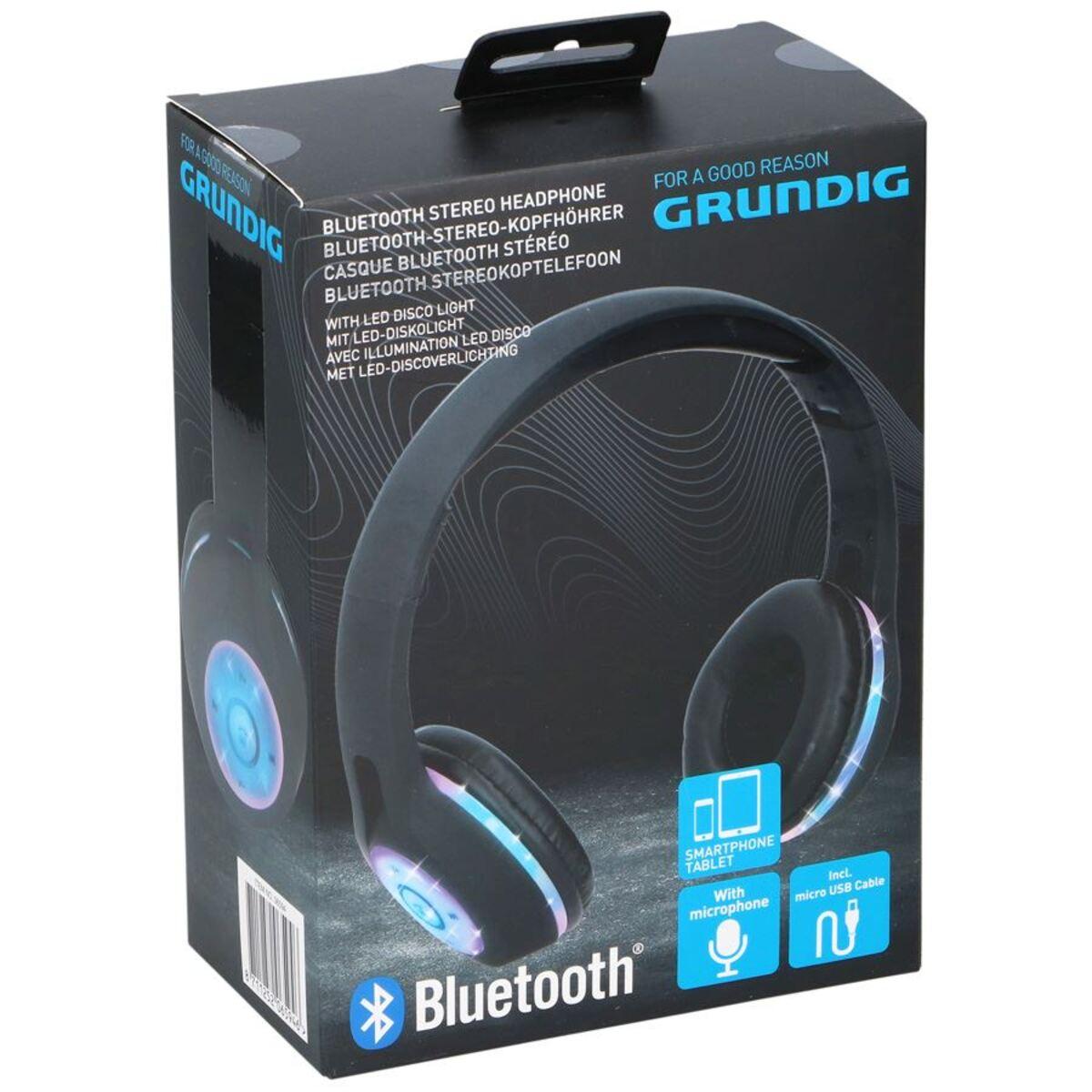 Bild 4 von Grundig Bluetooth-Stereo-Kopfhörer mit LED-Diskolicht