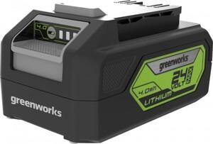 Greenworks Lithium-Ionen Akku ,  4 Ah, LED-Landestandsanzeige