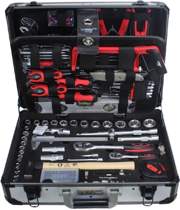 PRIMASTER Werkzeugkoffer 129 teilig | B-Ware - der Artikel ist neu - ein Zubehör beschädigt - ohne OVP