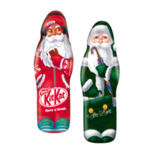 KitKat, After Eight oder Smarties Weihnachtsmann