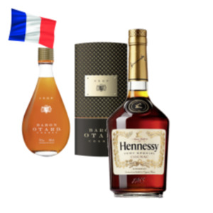 Hennessy Cognac VS oder Baron Otard Cognac VSOP