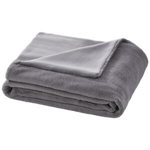 Decke in Grau ca. 150x200 cm 'Elina'