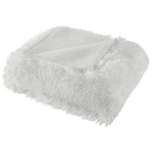 Kuscheldecke in Weiß ca. 150x200 cm 'Marle'