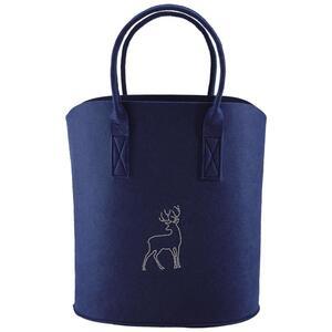 Tasche in Blau 'Luca' ca.40x45cm