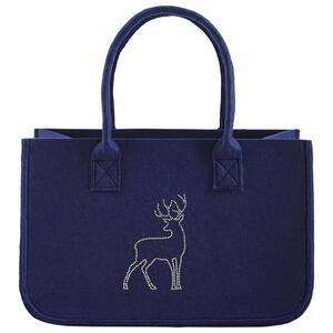 Tasche in Blau 'Luca'  ca.38x24cm
