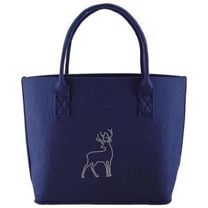 Tasche in Blau 'Luca' ca.38x34cm