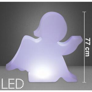 LED-Dekoleuchte in Weiß ca. 85/77 cm 'Angel'