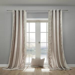 Vorhang in Grau ca. 140x245 cm 'Nele'