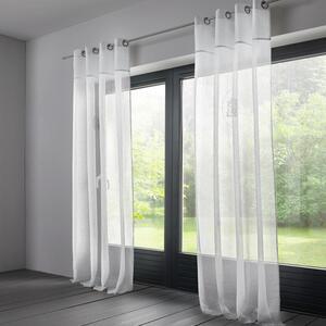 Vorhang in Weiß ca. 140x245 cm 'Emily'