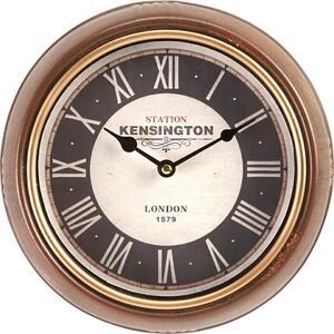 Uhr Milan in Braun ca.Ø24,5cm