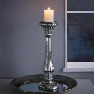 Kerzenhalter in Silber H ca. 53 cm 'Lorna'