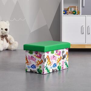 BOX in mulitcolor 'Dino'