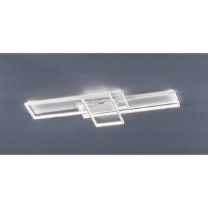 Trio LED-Deckenlampe Tucson Weiß matt 1-flammig 35 W EEK: A+