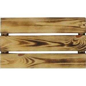 Einlegeboden für Holzkisten Geflammt FSC®