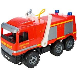 LENA - Feuerwehr Modell Actros mit Aufkleber, Starke Riesen, ca. 65 cm