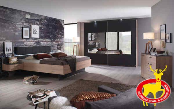 Rauch Dialog - Schlafzimmer Tosca in graphit/Jackson ...