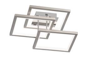 Wofi - LED-Deckenleuchte Viso in nickel matt