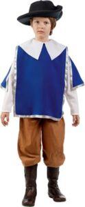 Kostüm Musketier, 3-tlg. Gr. 152/158
