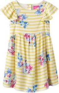 Kinder Kleid EMELINE gelb Gr. 110 Mädchen Kleinkinder