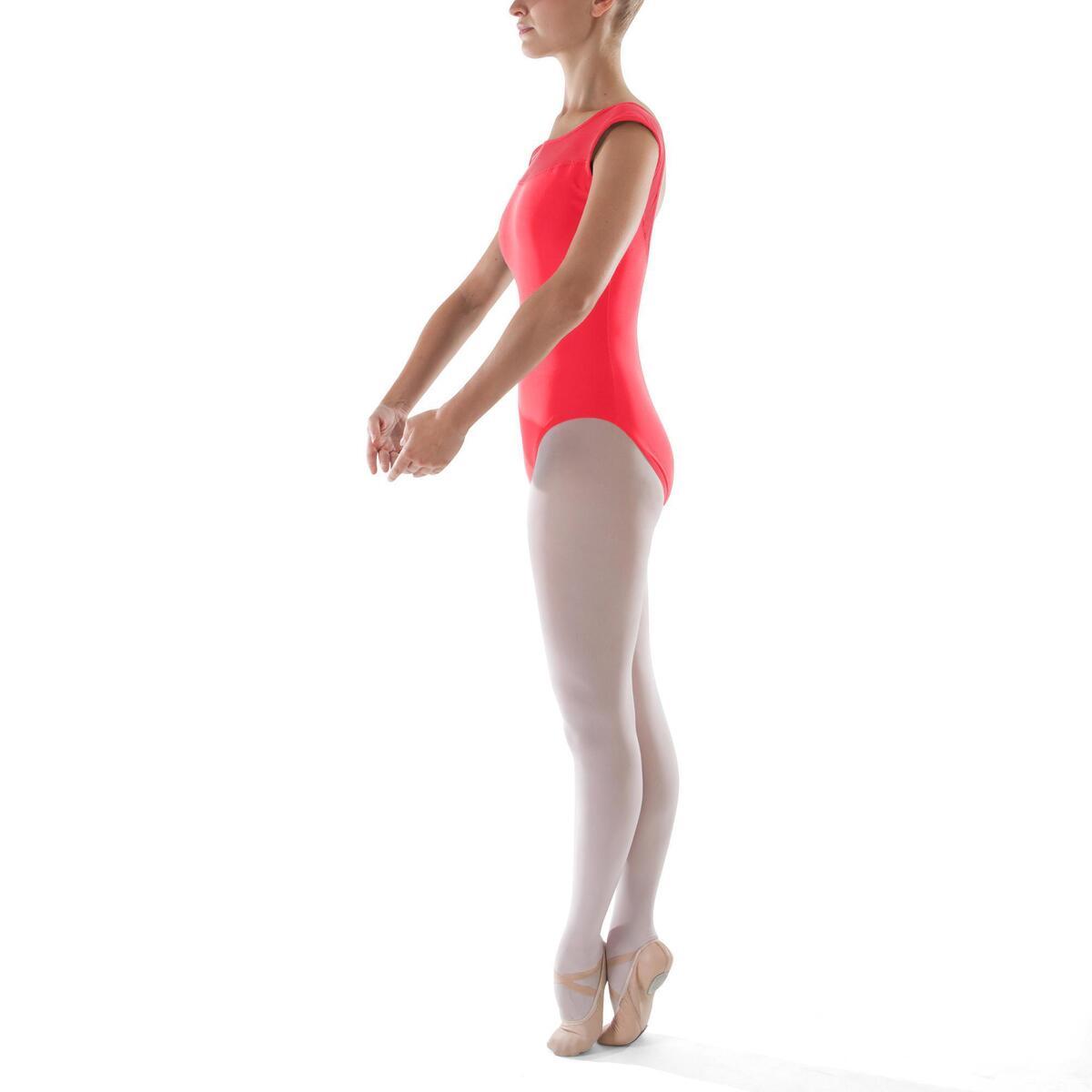 Bild 4 von Tanzbody Ballett Kurzarm Damen koralle