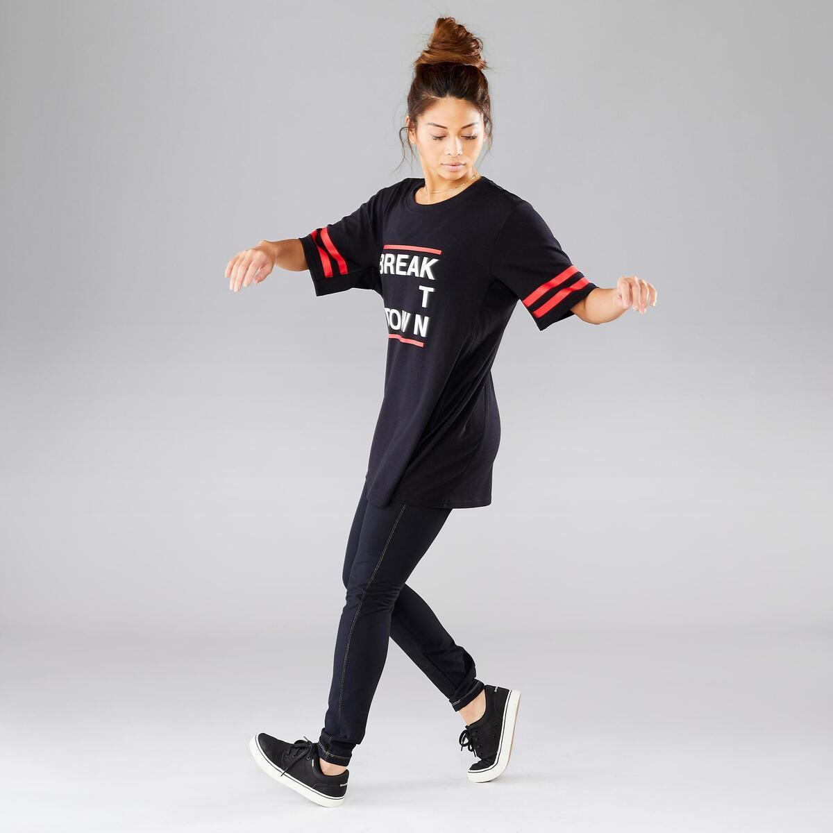 Bild 3 von Tanz-Shirt Street Dance schwarz unisex