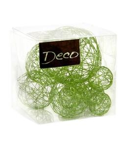 Dekoratives Drahtbälle-Set, 10 Stk.