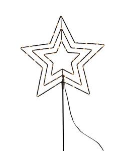 Dehner LED-Stern aus Metall, 35 x 98 x 0,25 cm