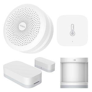 Xiaomi Aqara Smart Sensor Set (Hub mit Tür-, Temperatur- und Bewegungssensor) - kompatibel mit Apple HomeKit