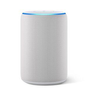 Amazon Echo (3. Generation) smarter Lautsprecher mit Alexa - Sandstein Stoff