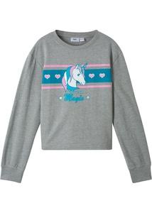 Sweatshirt mit Einhornmotiv