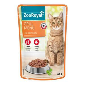 20 x 85g ZooRoyal Grill Menü mit Geflügel (Multipack)