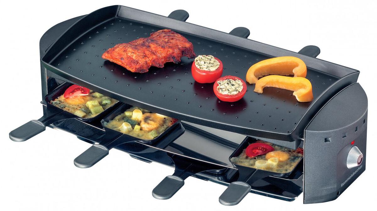 Bild 2 von Rommelsbacher Gourmet Raclette Ottimo RC 1200