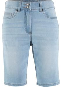 Push-up Jeans-Bermuda, gerade