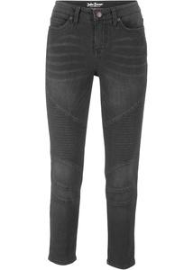 Stretch-Biker-Jeans, SLIM, 7/8