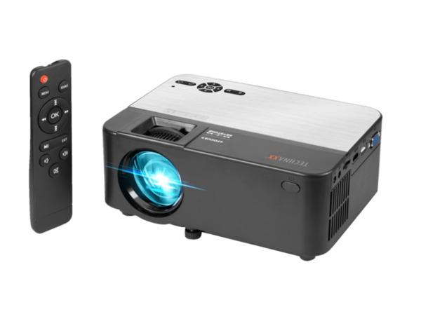 TECHNAXX TX-132 mit Bluetooth Funktion Mini Beamer