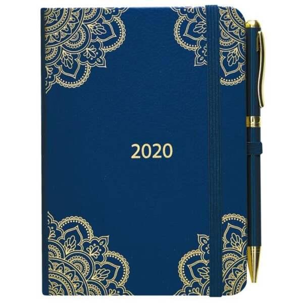 IDEENWELT Terminplaner 2020 blau
