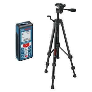 Bosch Professional Laserentfernungsmesser GLM 80 + Stativ BT150