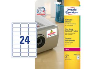AVERY ZWECKFORM L6141-20  Kraftkleber-Etiketten