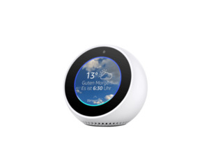AMAZON Echo Spot Smart Speaker in Weiß