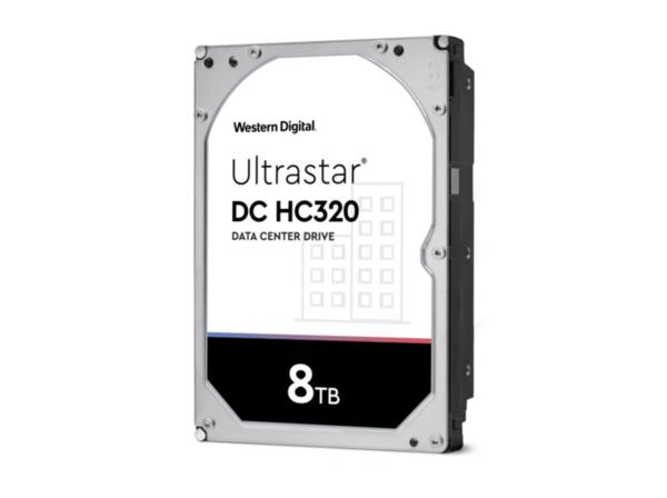 WD Ultrastar HC320 8 TB Festplatte  3.5 Zoll in