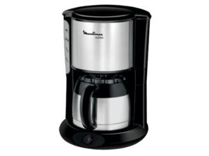 MOULINEX FT3608.11 Kaffeemaschine mit Isolierkanne in Edelstahl matt/Schwarz